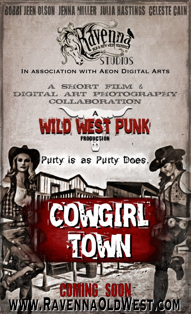 Cowgirl Town Promo Poster