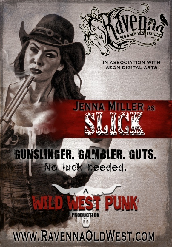 "Jenna Miller as ""Slick"""