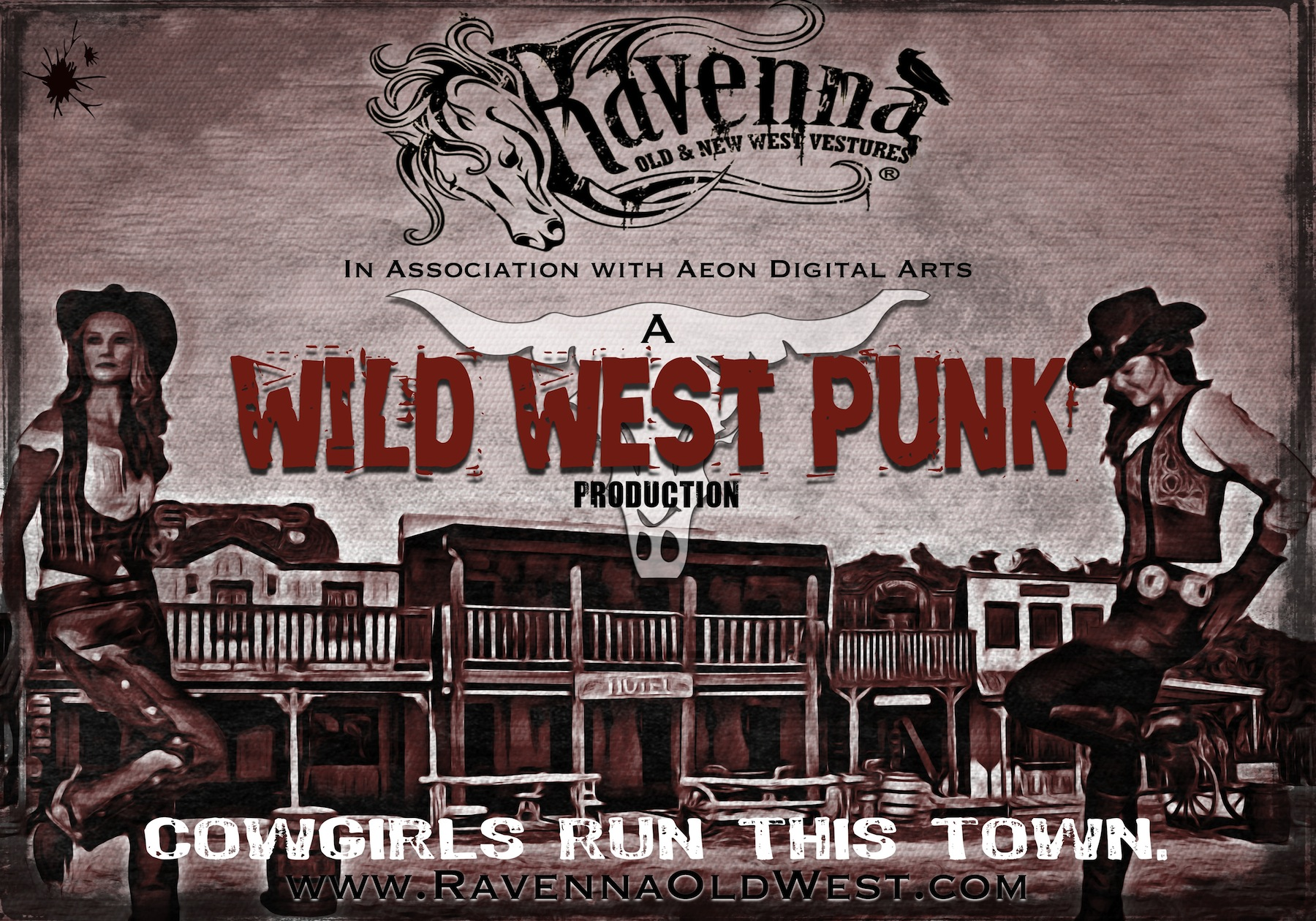 Western Punk Poster