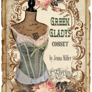 Green Gladys Corset_Front