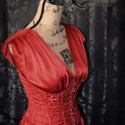 Red Corest Dress_Side Front
