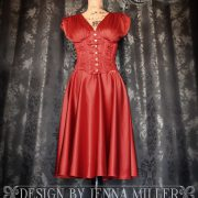 Red Corset Dress_Full Front